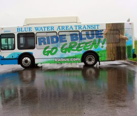 RIDE BLUE, GO GREEN!