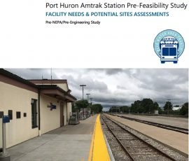 Port Huron Amtrak Station Pre-Feasibility Study